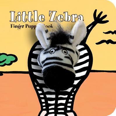Image for Little Zebra Finger Puppet Book