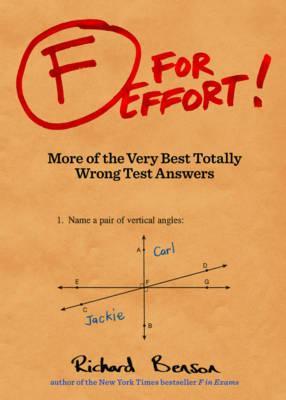 F for Effort, Benson, Richard V.