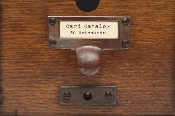 Card Catalog: 30 Notecards from the Library of Congress, Chronicle Books