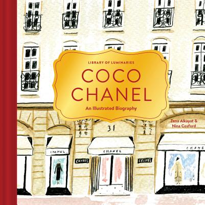 Image for COCO CHANEL AN ILLUSTRATED BIOGRAPHY