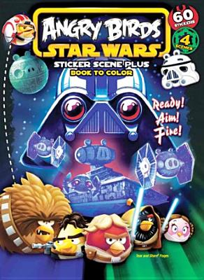 Image for Bendon Publishing Angry Birds/Star Wars Sticker Scene Coloring Book