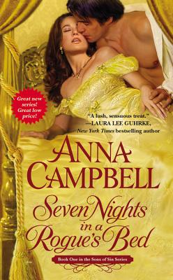 """Seven Nights in a Rogue's Bed (Sons of Sin), """"Campbell, Anna"""""""