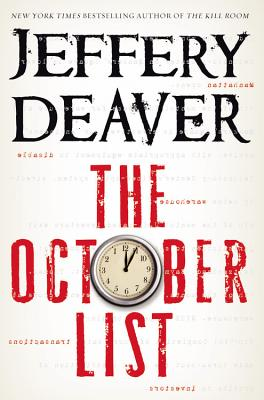The October List, Deaver, Jeffery