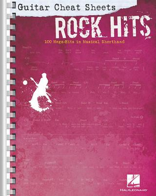 Guitar Cheat Sheets: Rock Hits - 100 Mega-Hits in Musical Shorthand, Hal Leonard Corp. (Author)