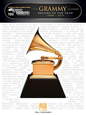 Image for E-Z Play 160 - The Grammy Awards Record Of The Year 1958-2011 (E-Z Play Today)