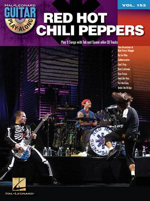 Image for Red Hot Chili Peppers - Guitar Play-Along Volume 153 (Book/CD) (Hal Leonard Guitar Play-Along)