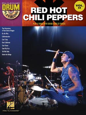 Image for Red Hot Chili Peppers - Drum Play-Along Volume 31 Book/CD