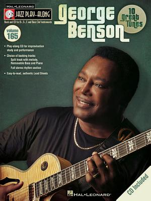 Image for George Benson - Jazz Play-Along Volume 165 (Book/CD) (Hal Leonard Jazz Play-Along)