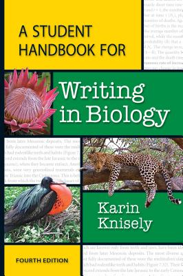 Image for A Student Handbook for Writing in Biology