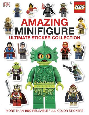 Ultimate Sticker Collection: Amazing LEGO Minifigure (Ultimate Sticker Collections), DK