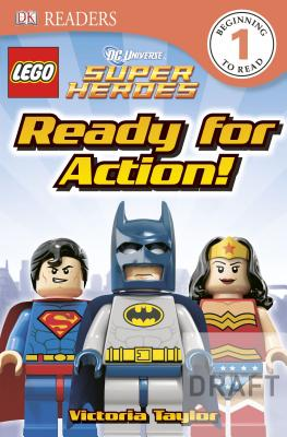 Image for DK Readers L1: LEGO DC Super Heroes: Ready for Action!