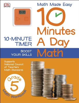 Image for 10 Minutes a Day: Math, Fifth Grade (Math Made Easy)
