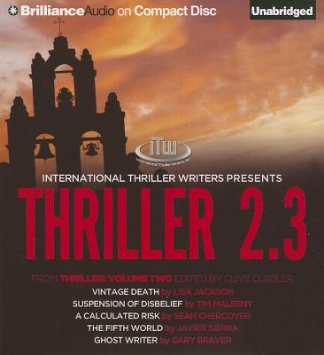 Image for Thriller 2.3: Vintage Death, Suspension of Disbelief, A Calculated Risk, The Fifth World, Ghost Writer