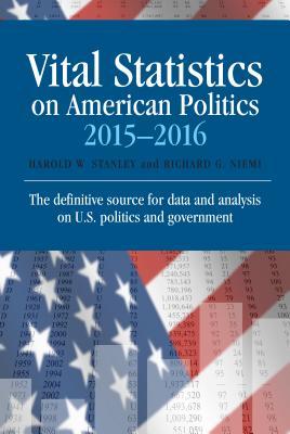 Image for Vital Statistics on American Politics 2015-2016