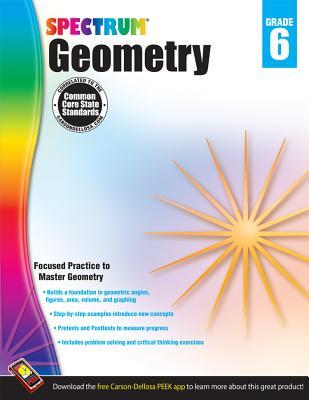 Image for Spectrum - Geometry Workbook, Grade 6
