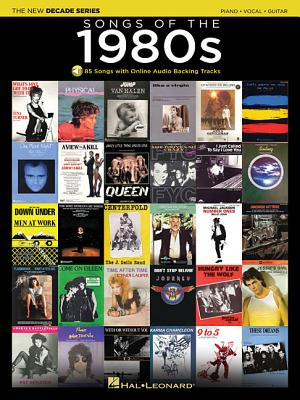 Image for Songs of the 1980s: The New Decade Series with Online Play-Along Backing Tracks