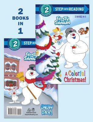 A Colorful Christmas!/Snow Day! (Frosty the Snowman) (Step into Reading), Carbone, Courtney; Nieves, Xiomara