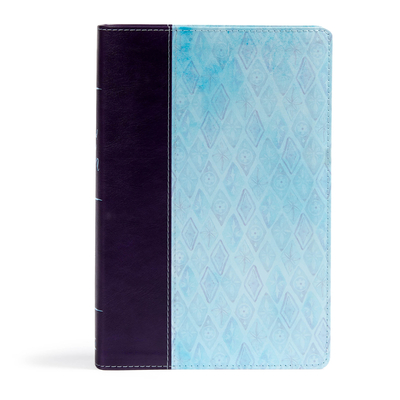 Image for NKJV Daily Devotional Bible for Women, Purple/Blue LeatherTouch
