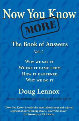 Image for Now You Know More The Book Of Answers Vol 2