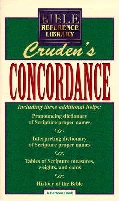 Image for CRUDEN'S BIBLE CONCORDANCE