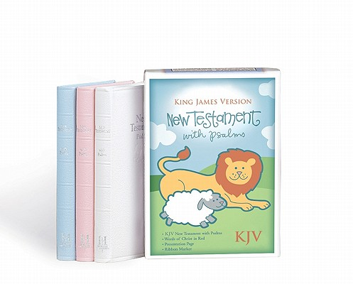 Image for New Testament With Psalms/King James Version/Pink Leather/4633-75