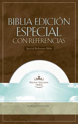 Image for RVR 1960 Biblia con Referencias, blanco piel fabricada con índice (Spanish Edition)