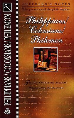 Image for Philippians, Colossians, Philemon (Shepherd's Notes)