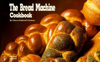 Image for BREAD MACHINE COOKBOOK