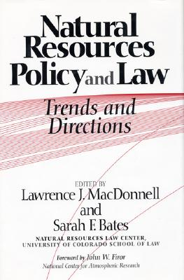 Image for Natural Resources Policy and Law: Trends And Directions