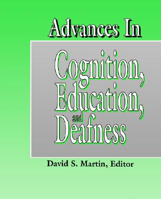Image for Advances in Cognition, Education, and Deafness