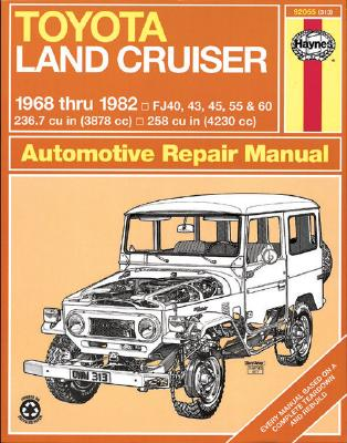 Image for Toyota Land Cruiser Petrol 1968-82 (92055) Haynes Automotive Repair Manual