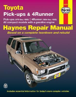 Image for Toyota Pickup   '79'95 (Haynes Repair Manuals)