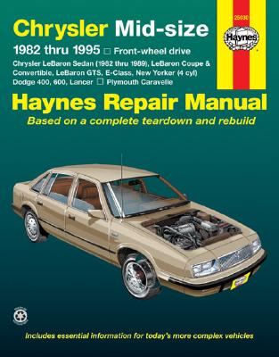 Image for Chrysler Midsize Sedans (fwd) '82 -'95 (Haynes Repair Manual)