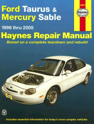 Image for FORD TAURUS & MERCURY SABLE 1996 THRU 20