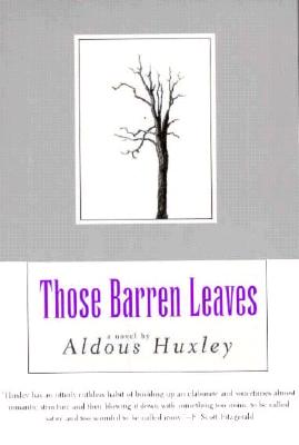 Image for Those Barren Leaves