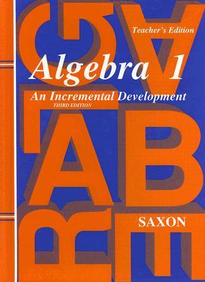 Image for Saxon Algebra 1 /Home Study Packet (2 Volume Set)