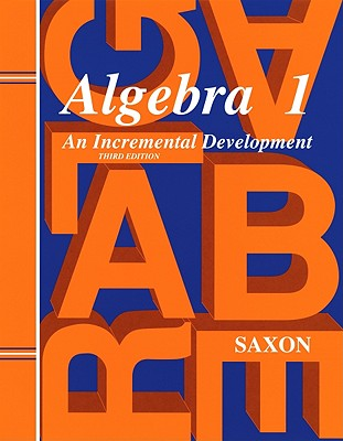 Image for Saxon Algebra 1 Solutions Manual, 3rd Edition