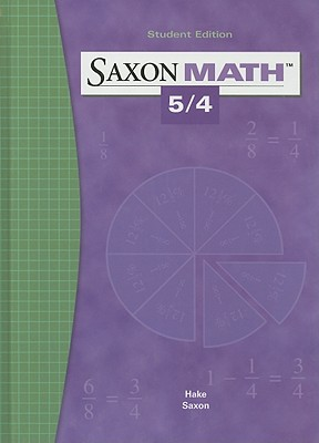 Image for Saxon Math 5/4