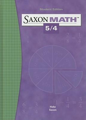 Saxon Math 5/4, SAXON PUBLISHERS