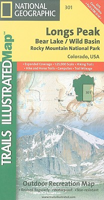 Longs Peak,Bear Lake/Wild Basin Rocky Mountain National Park,Colorado,USA (National Geographic Maps: Trails Illustrated)