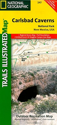 Carlsbad Caverns National Park (National Geographic Trails Illustrated Map), National Geographic Maps - Trails Illustrated