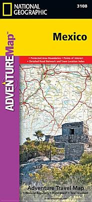 Mexico (National Geographic Adventure Map), National Geographic Maps - Adventure