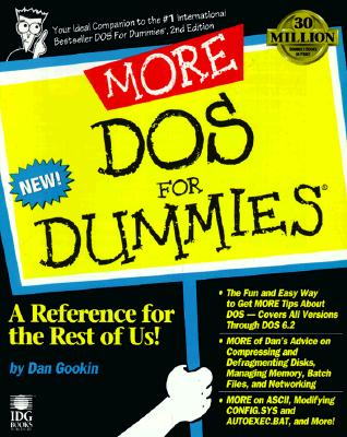 Image for MORE DOS for Dummies