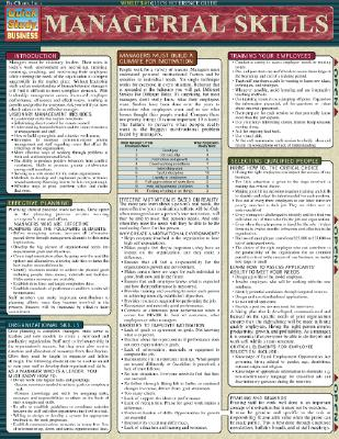 Image for Managerial Skills (Quickstudy Reference Guides - Academic)