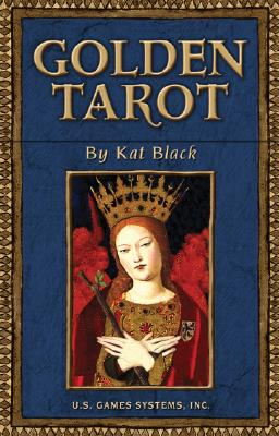 Golden Tarot Deck, Black, Kat