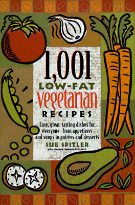 Image for 1,001 Low-Fat Vegetarian Recipes