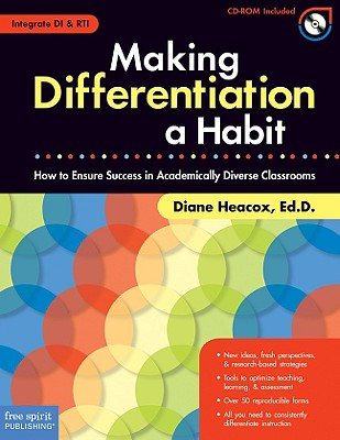 Image for Making Differentiation a Habit: How to Ensure Success in Academically Diverse Classrooms