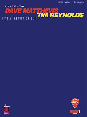 Image for Dave Matthews/Tim Reynolds - Live at Luther College (Play-It-Like-It-Is)