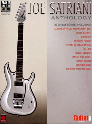 Image for Joe Satriani Anthology (Play it Like it is Guitar)