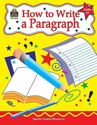 Image for How to Write a Paragraph, Grades 3-5